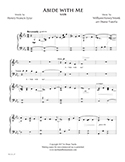 Abide with Me music image